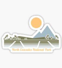 North Cascades National Park Washington  Sticker