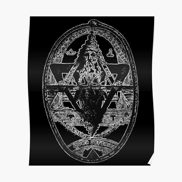 Hermes Trismegistus as Above so Below Hermetic Axiom Poster
