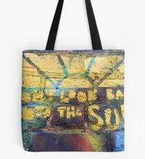 Schau nicht zurück in die Sonne - Die Libertines Tote Bag