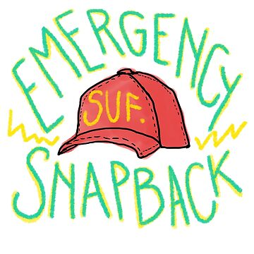 Sufjan's Emergency Snapback by rachherself