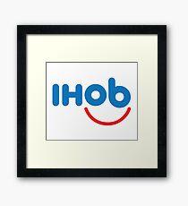 IHOB Logo Framed Print