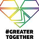 LGBTQIA+ Pride - #GreaterTogether 2018 PRIDE by GTGamesLLC