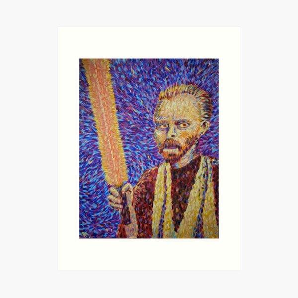 Obi Van Gogh Nobi Art Print