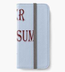 super, awesum,  dad iPhone Wallet/Case/Skin