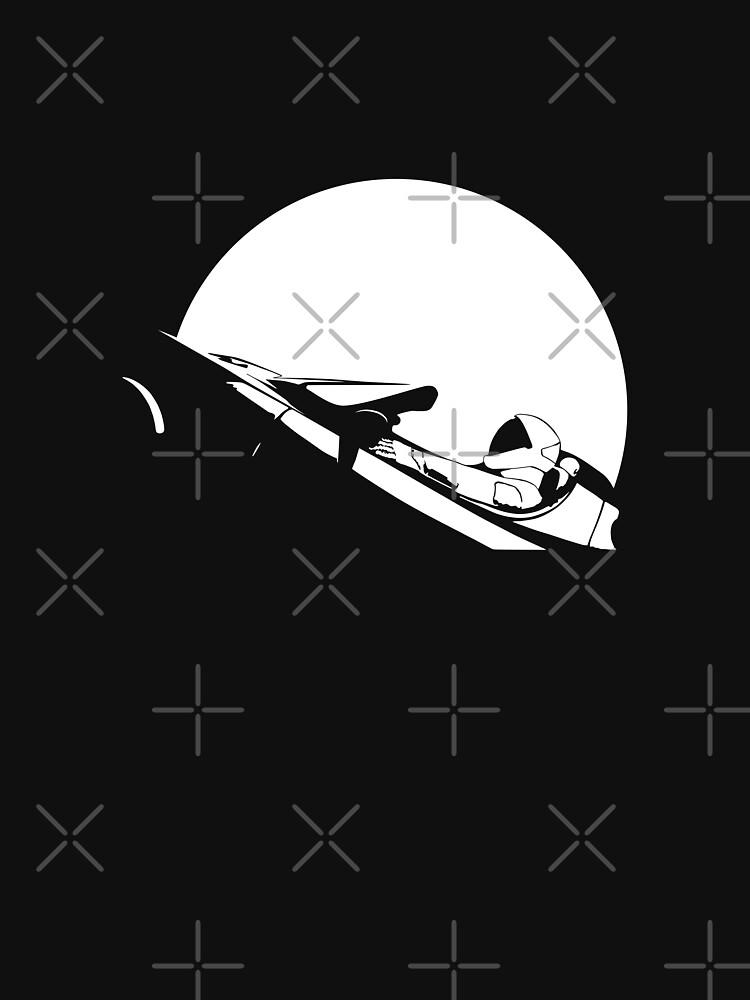 Starman In Space Tesla Roadster de science-gifts