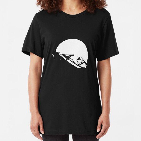 Starman In Space Tesla Roadster Slim Fit T-Shirt
