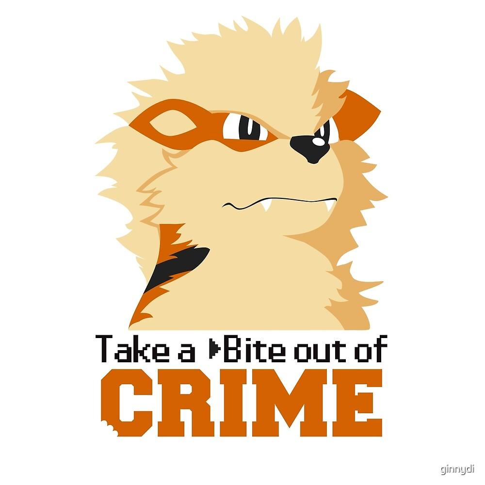 Take a Bite Out of Crime by ginnydi