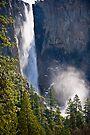 Bridal Veil Falls Yosemite by photosbyflood