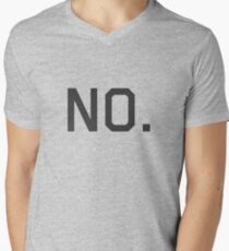 No. Men's V-Neck T-Shirt
