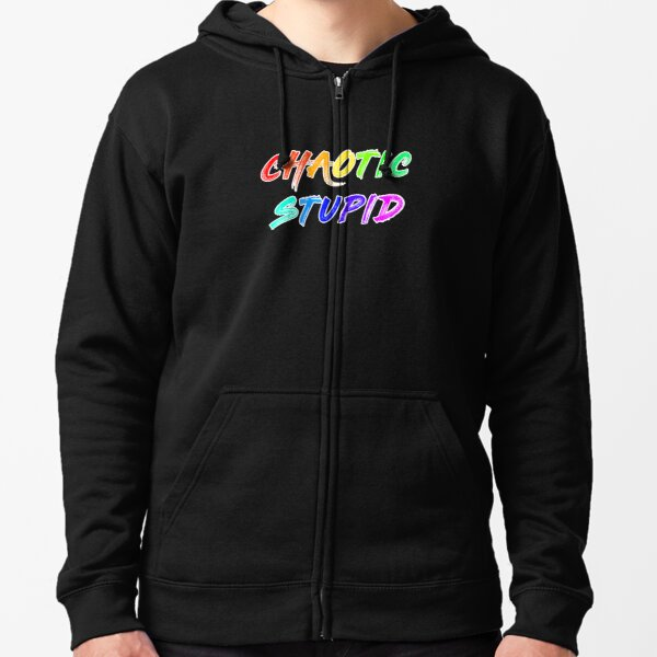 Alignment - Chaotic Zipped Hoodie