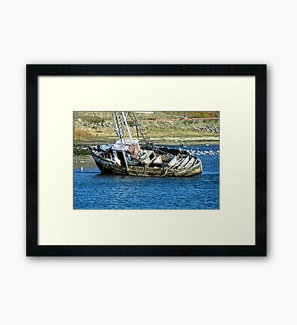 The Wreck of the Josie C Framed Print