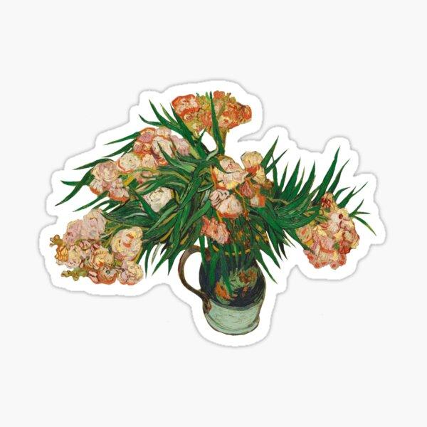 Oleanders, Van Gogh Sticker
