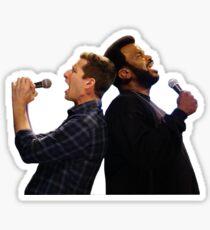 Jake and Doug Judy  Sticker