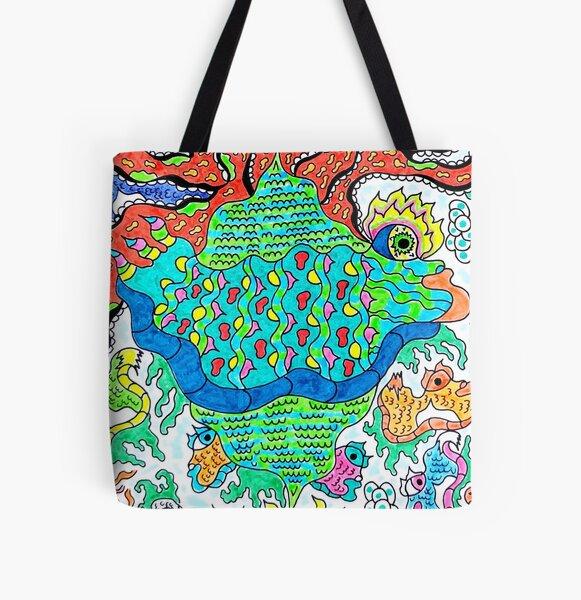 Ocalafish All Over Print Tote Bag