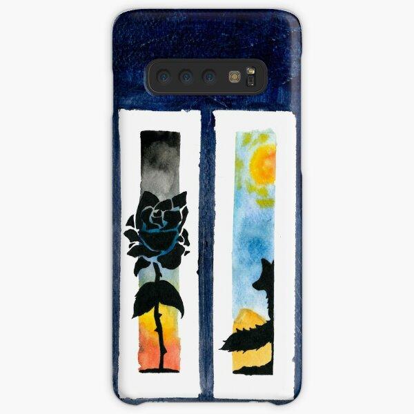 Wasserfarben Silhouetten Samsung Galaxy Leichte Hülle
