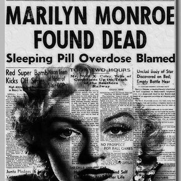 Marilyn Monroe Found Dead by rgerhard