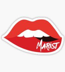 Marist Lips Sticker