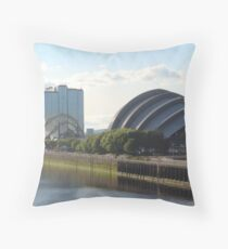 Crowne Plaza & The Armadillo Throw Pillow
