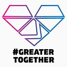 Bisexual Pride - #GreaterTogether 2018 by GTGamesLLC