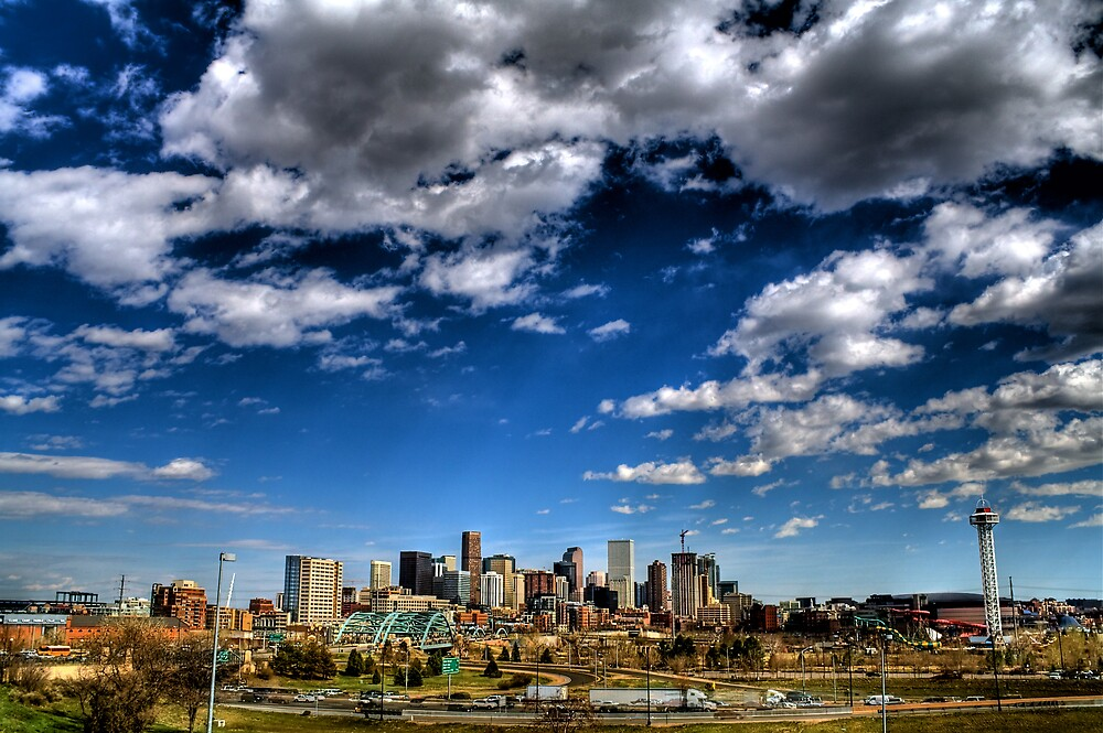 Denver Skyline 1 by greg1701