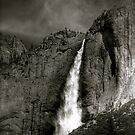 Yosemite Waterfall Portrait  by JBoyer