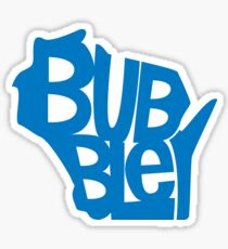Wisconsin Bubbler Sticker