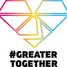 Pansexual Pride - #GreaterTogether 2018 PRIDE by GTGamesLLC