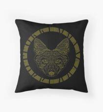 Tokkummaa Wolf Throw Pillow
