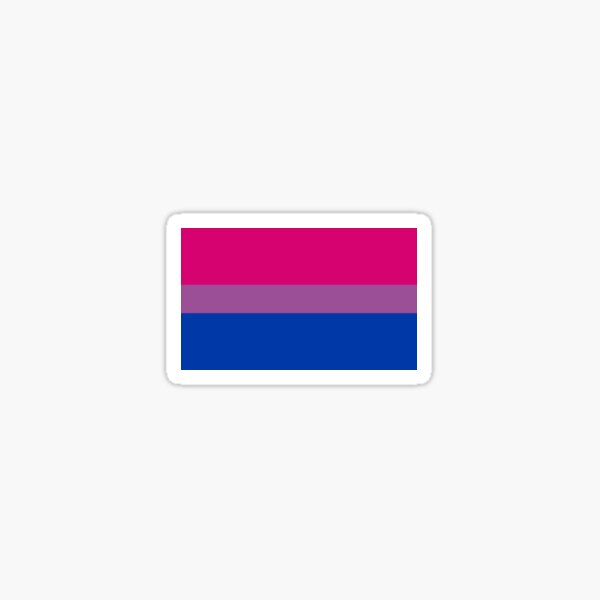 bi pride Sticker