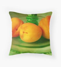 Still life with Apricots Throw Pillow