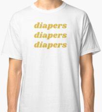 Pañales pañales pañales Camiseta clásica