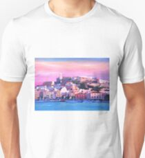 Ibiza Eivissa Old Town And Harbour Pearl Of The Mediterranean  Unisex T-Shirt