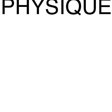 Physique Bodybuilding Wear by tgil