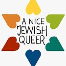 A Nice Jewish Queer- Rainbow by V Silverman