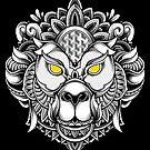 Ornate Monkey by GODZILLARGE