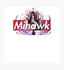 Supreme Box Logo One Piece Mihawk Dracule Photographic Print