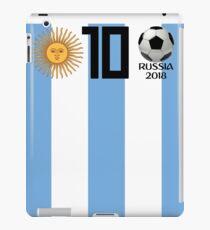 Argentina Soccer 2018 Russia Championship T Shirt iPad Case/Skin