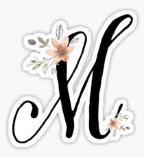 Monogram M Sticker