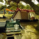 Campsite by Larry  Grayam