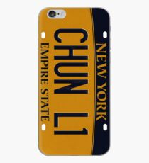 PLATES SAY CHUN-LI iPhone Case