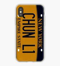 PLATES SAY CHUN-LI iPhone Case