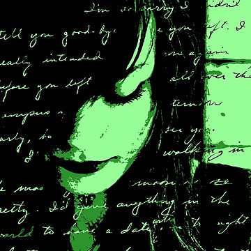 Love Letter Green by jngraphs