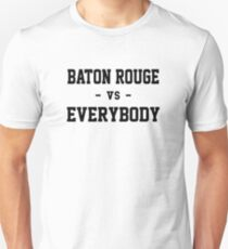 Baton Rouge gegen alle Slim Fit T-Shirt