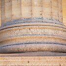 Column Base at Philadelphia Art Museum by PixLifePhoto