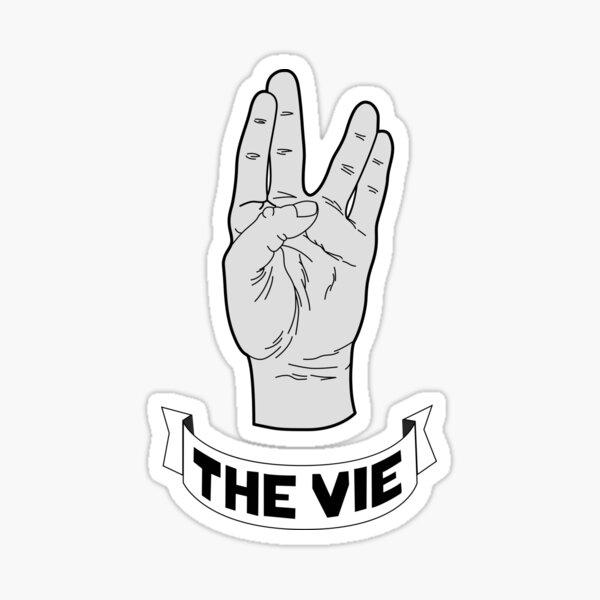 The Vie 4 Declinaison Sticker