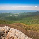 View from Mary's Rock in Shenandoah Valley by PixLifePhoto
