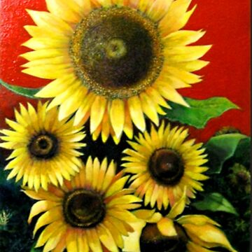 sunflowers by l73orenson8
