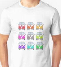 Rainbow Camper Vans Unisex T-Shirt