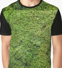 Green Moss Plant Life in the Forest or Jungle Graphic T-Shirt