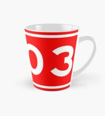 G503国道   China National Highway Route Number Sign Tall Mug